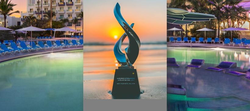 Hard Rock Hotel Vallarta, Best Hotel of the Year in 2017