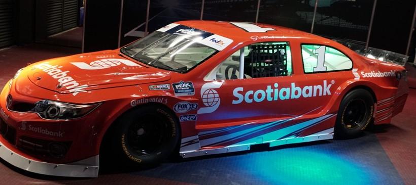 Scotiabank: nuevo socio de NASCAR PEAK México Series