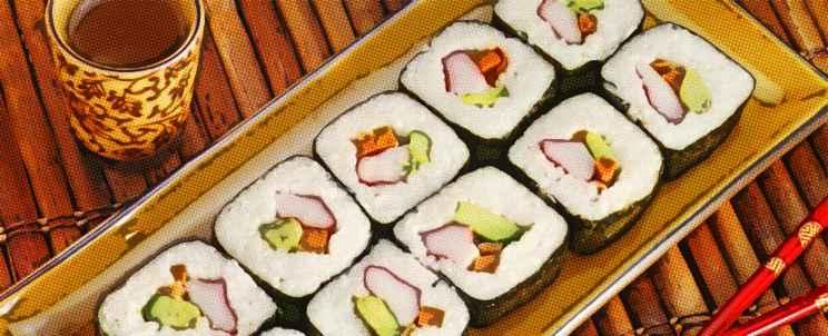 Kit de utensilios para sushi
