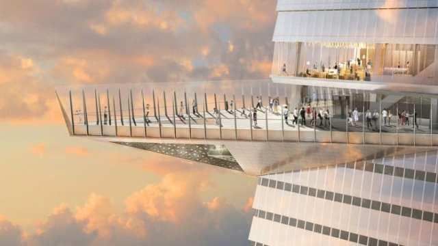 В Нью-Йорке откроют самую высокую смотровую площадку.