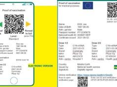 В Европе вводят единый сертификат о ковид-вакцинации.