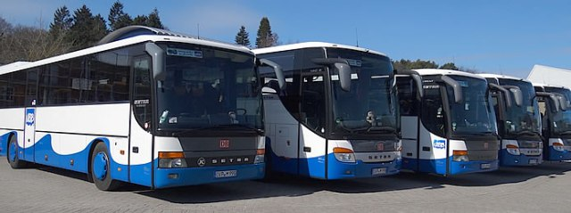Fermnbuslinie der UBB nach Usedom
