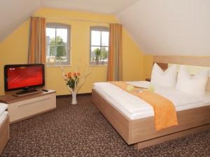 Schlafzimmer FH Strandgut Strandhaus Aurell