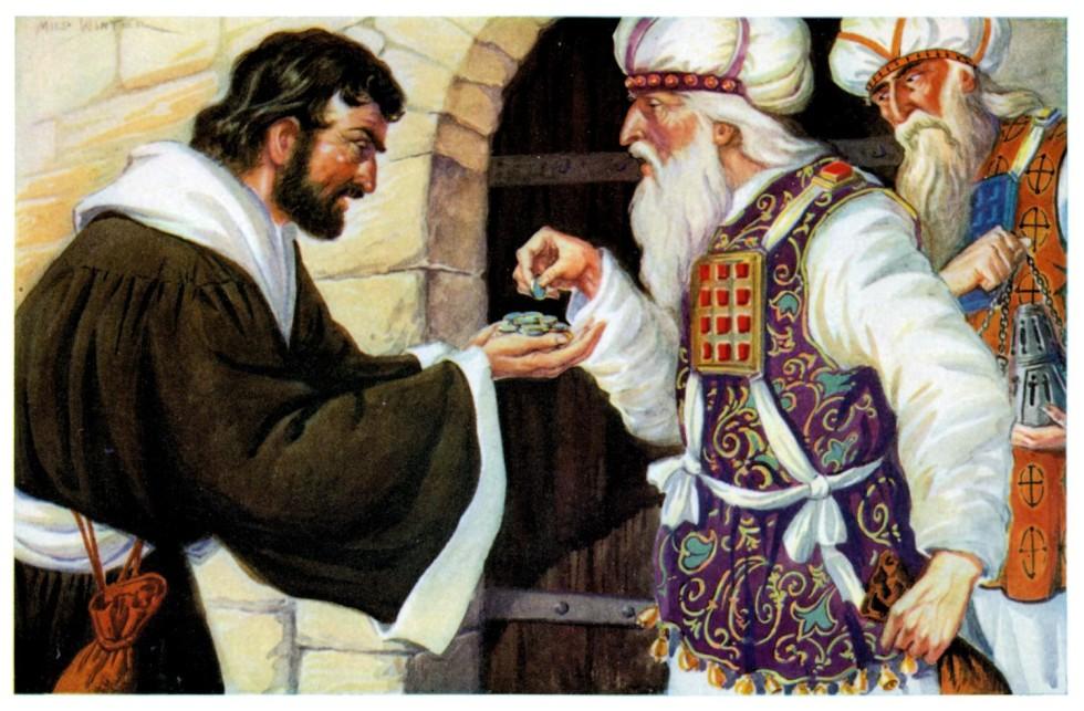 Traición de Judas Iscariote