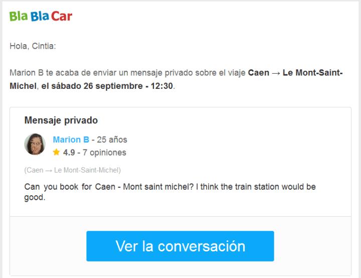 BlaBlaCar_Mensajes