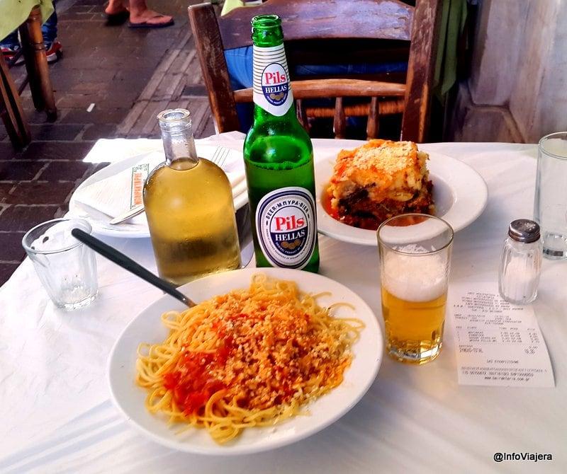 Almuerzo_Restaurante_Monastiraki_Atenas_Grecia