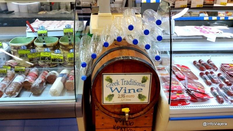 Dispenser_Vino_Supermercado_Santorini_Grecia