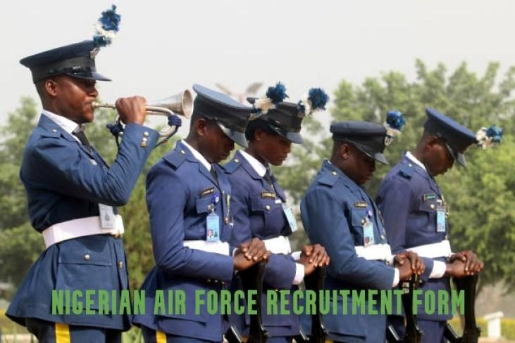 Nigerian Air force Recruitment Form