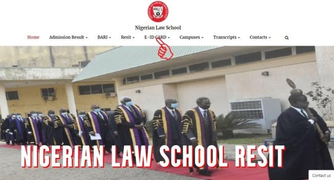 Nigerian Law School Resit