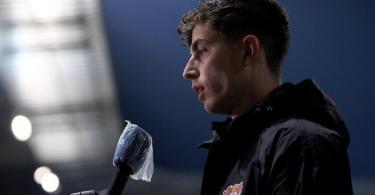 Steht beim Spiel gegen die Bayern im Rampenlicht: Leverkusens Kai Havertz. Foto: Stuart Franklin/Getty-Pool/dpa