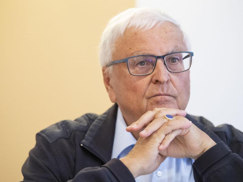 Theo Zwanziger war von 2006 bis 2012 Präsident des Deutschen Fußball-Bundes. Foto: Boris Roessler/dpa