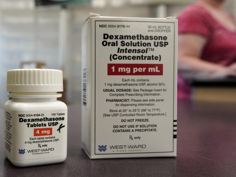 Die Weltgesundheitsorganisation hat die vorläufigen Ergebnisse der britischen Studie zu Dexamethason gegen die Lungenkrankheit Covid-19 als Durchbruch begrüßt. Foto: Nati Harnik/AP/dpa