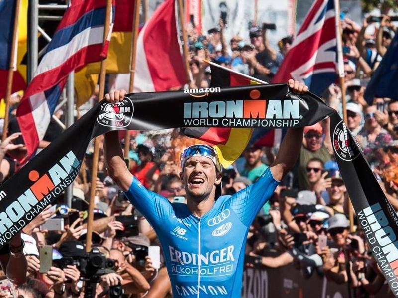 Der zweimalige Ironman-Sieger Patrick Lange muss auf den Hawaii-Triathlon verzichten. Foto: Ronit Fahl/Zuma Press/dpa