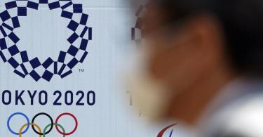 Die Olympischen Spiele sollen erst im Jahr 2021 stattfinden. Foto: Eugene Hoshiko/AP/dpa