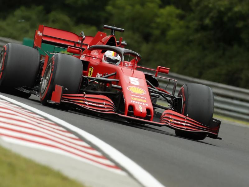 Das letzte Rennen auf dem Nürburgring konnte Sebastian Vettel gewinnen - damals noch im Red Bull. Foto: Darko Bandic/Pool/AP/dpa