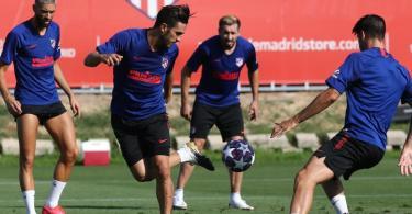 Bei Leipzigs Gegner Atlético Madrid sind zwei Corona-Fälle bekanntgeworden. Foto: Atletico Madrid/dpa