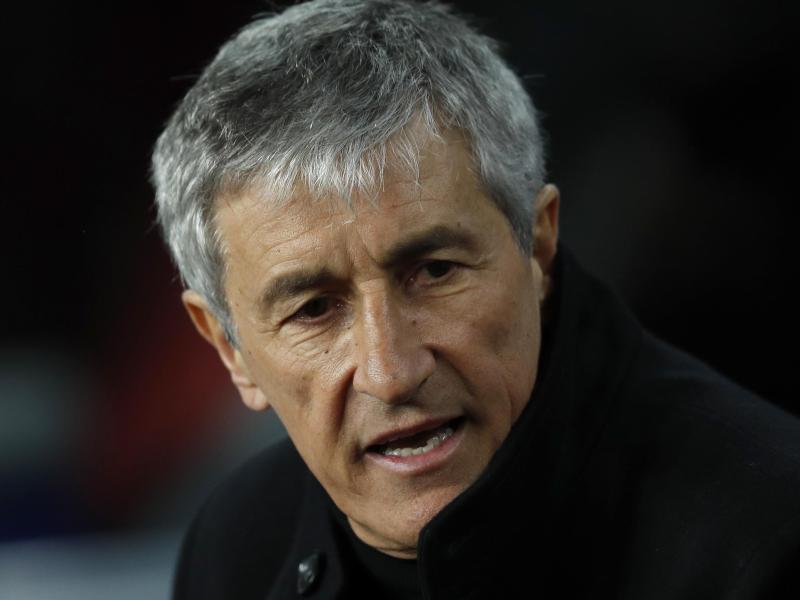 Der FC Barcelona hat sich nach dem 2:8-Debakel gegen den FC Bayern München von Trainer Quique Setién getrennt. Foto: Joan Monfort/AP/dpa