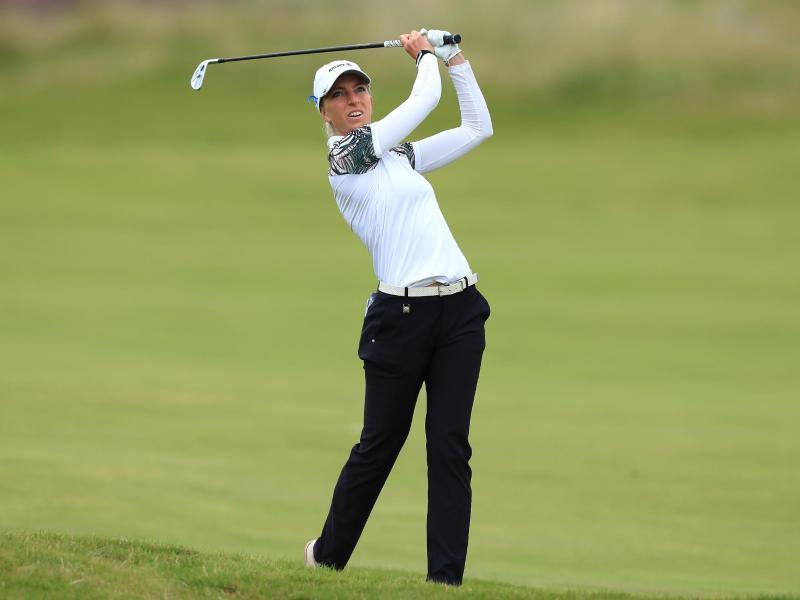 Sophia Popov gewann die British Open. Foto: golfsupport.nl/R&A/dpa
