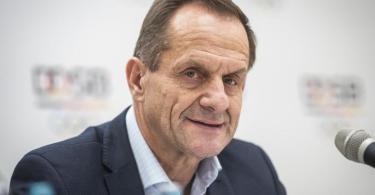 Sieht die Corona-Krise als große Herausforderung: DOSB-Boss Alfons Hörmann. Foto: Frank Rumpenhorst/dpa