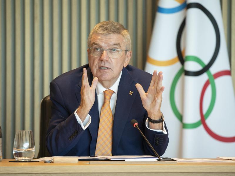 Äußerte sich besorgt zum Fall Afkari: IOC-Präsident Thomas Bach. Foto: Greg Martin/IOC/dpa