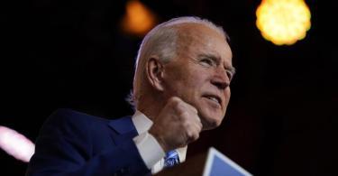 Der gewählter US-Präsident Joe Biden ruft seine Landsleute zur Einheit gegen Corona auf. Foto: Carolyn Kaster/AP/dpa