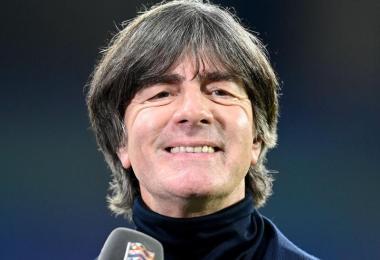 Bleibt bis 2021 Bundestrainer: Joachim Löw kann seinen Kurs der Erneuerung fortsetzen. Foto: Robert Michael/dpa-Zentralbild/dpa