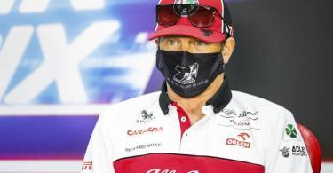 Freut sich auf Mick Schumacher in der Formel 1 und fuhr schon mit dessen Vater Michael: Kimi Räikkönen. Foto: Florent Gooden/Pool DPPI/AP/dpa