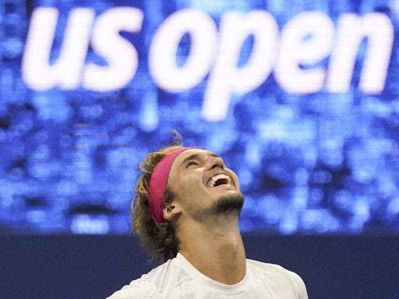 Hat ein filmreifes Jahr 2020 hinter sich: Tennis-Profi Alexander Zverev. Foto: Seth Wenig/AP/dpa