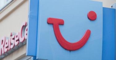 Ein Reisebüro von Tui in Greifswald. Foto: Stefan Sauer/dpa-Zentralbild/dpa