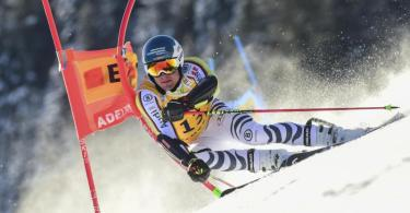 Verpasste in Adelboden die Top-20: Alexander Schmid. Foto: Marco Tacca/AP/dpa