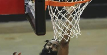 James Harden verlässt die Houston Rockets. Foto: Yi-Chin Lee/Houston Chronicle/dpa