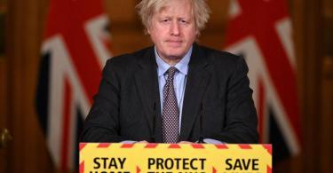 Premierminister von Großbritannien, Boris Johnson. Die britische Regierung will bis zum 21. Juni 2021 alle Beschränkungen in der Corona-Pandemie in England aufheben. Foto: Leon Neal/PA Wire/dpa