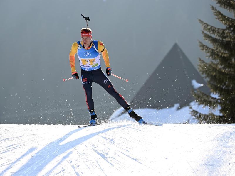 Biathlet Arnd Peiffer peilt beim Weltcup in Nove Mesto die nächste gute Platzierung an. Foto: Sven Hoppe/dpa