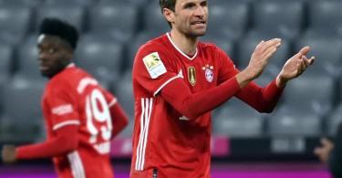 Thomas Müller steht einer Rückkehr in die deutsche Fußball-Nationalmannschaft aufgeschlossen gegenüber. Foto: Sven Hoppe/dpa-POOL/dpa