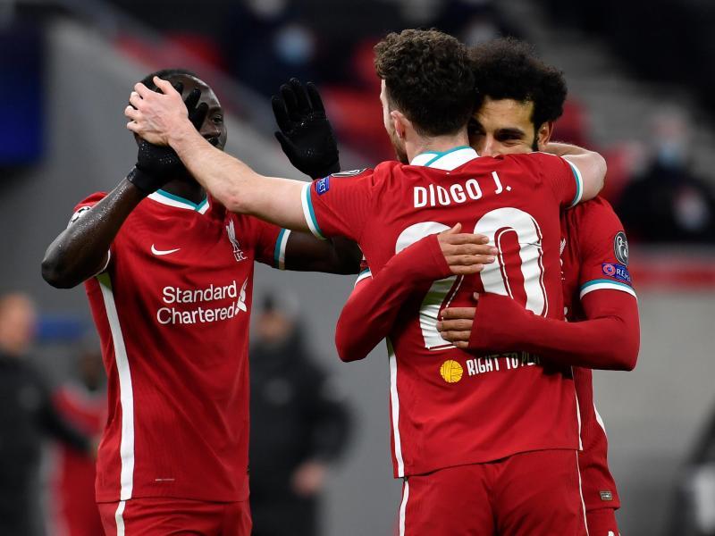 Letztlich problemlos zog der FC Liverpool gegen RB Leipzig ins Viertelfinale der Königsklasse ein. Foto: Marton Monus/dpa