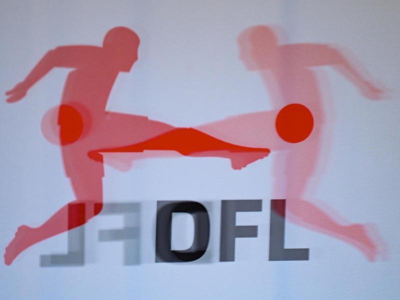 Das Logo der Deutschen Fußball Liga (DFL). Foto: Arne Dedert/dpa