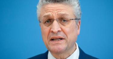 RKI-Präsident Lothar Wieler sieht kaum eine Alternative zum Lockdown in Deutschland. Foto: Kay Nietfeld/dpa