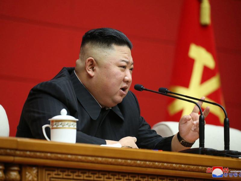 Nordkoreas Machthaber Kim Jong Un sorgt mit Rakentests für Aufsehen. Foto: -/KCNA/dpa