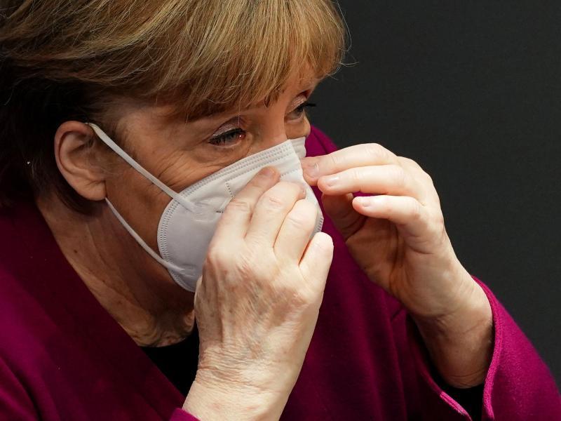 Bundeskanzlerin Angela Merkel: «Es war richtig, auf die gemeinsame Beschaffung und Zulassung von Impfstoffen durch die Europäische Union zu setzen.». Foto: Michael Kappeler/dpa