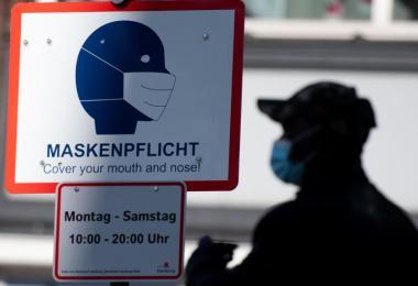 Die Sieben-Tage-Inzidenz in Deutschland ist auf 135,2 gestiegen. Foto: Daniel Reinhardt/dpa