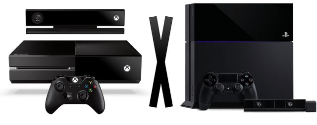 Xbox One versus PlayStation 4