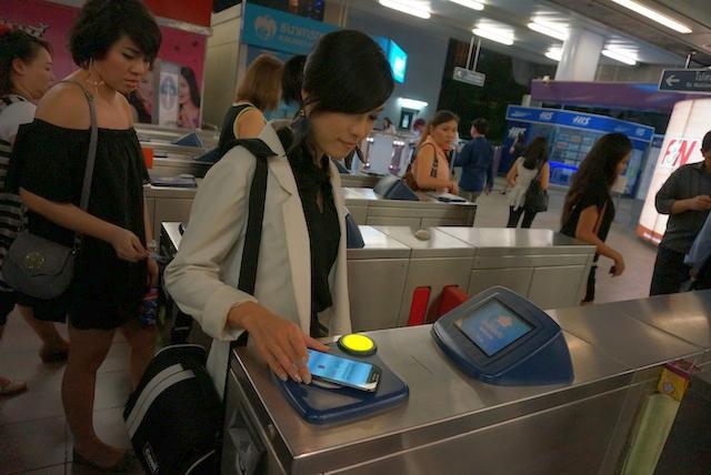 NFC no metrô