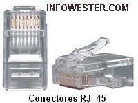 Conectores RJ-45