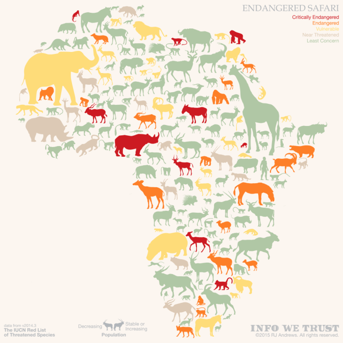ENDANGERED SAFARI Continent