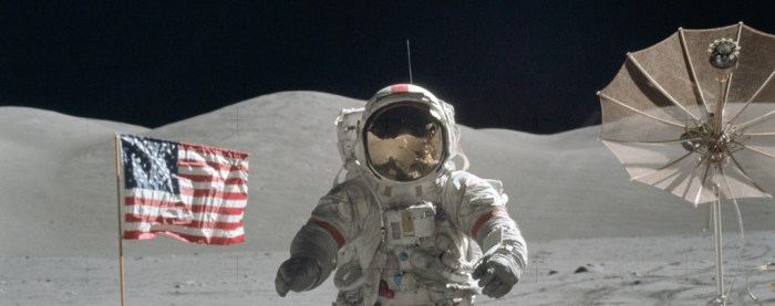 """Last man on moon"" Gene Cernan, NASA image archive."