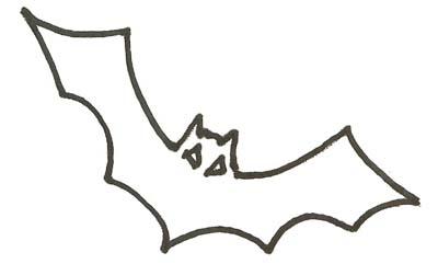 Fledermaus Malvorlage - Ausmalbild Fledermaus