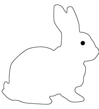 Malvorlage Hase- ses Kaninchen