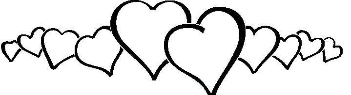Ausmalbilder Herzen - Malvorlage Gratis