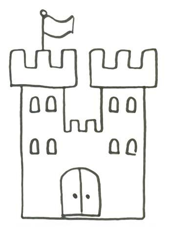 Malvorlage Schloss einer Knigin zum Ausdrucken