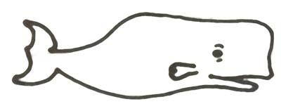 Malvorlage Wal - Wahlfisch Ausmalbild